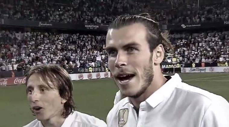 Image result for LUKA MODRIC AND GARETH BALE 2017