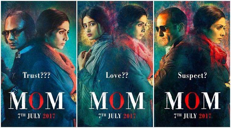 MOM new posters, Nawazuddin Siddiqui, Sridevi MOM, Sridevi MOM new posters,