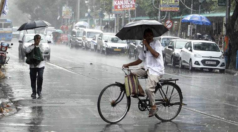 Monsoon news, Weather Maharashtra, Weather Delhi, Heat wave UP, Kolkata rain, Rain cities, Monsoon cities, Indian express, India news