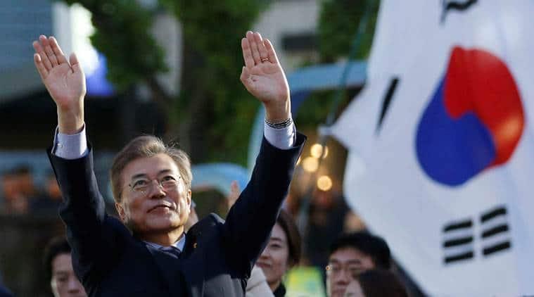 south korea, new south korean president, moon jae in, world news, south korea news, indian express