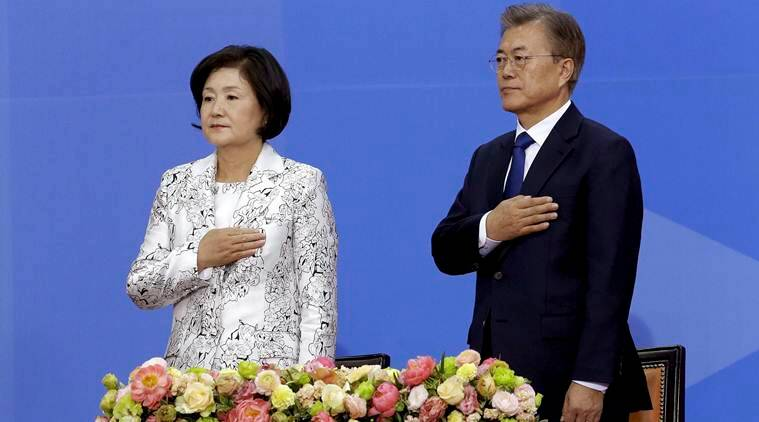 S Korea's new leader discusses N Korea, defense system with China's Xi