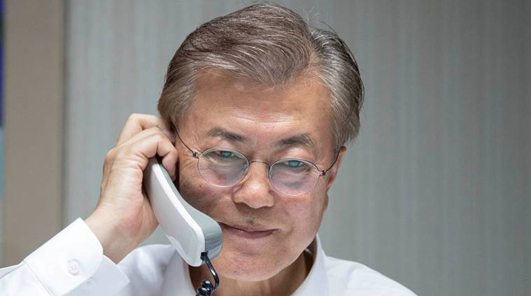 south korea new president, moon jae in, china south korea president talks, world news, indian express