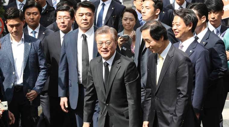 Moon Jae-in, Moon, South Korea, South Korea president, South korea president Moon Jae-in, New south korea president, North Korea, North korea tension, south Korea news, world news