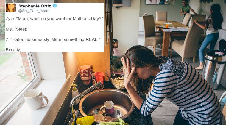 mother's day, mother's day funny tweets, funny mother's day tweets, indian express, indian expres news