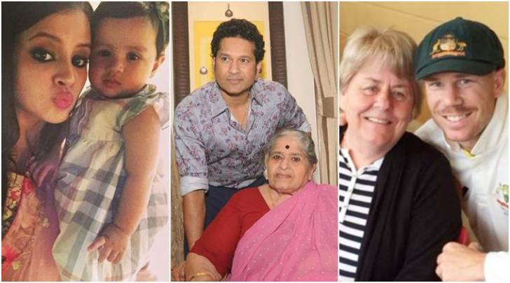 From Sachin Tendulkar to David Warner, sports stars celebrate Mother's day