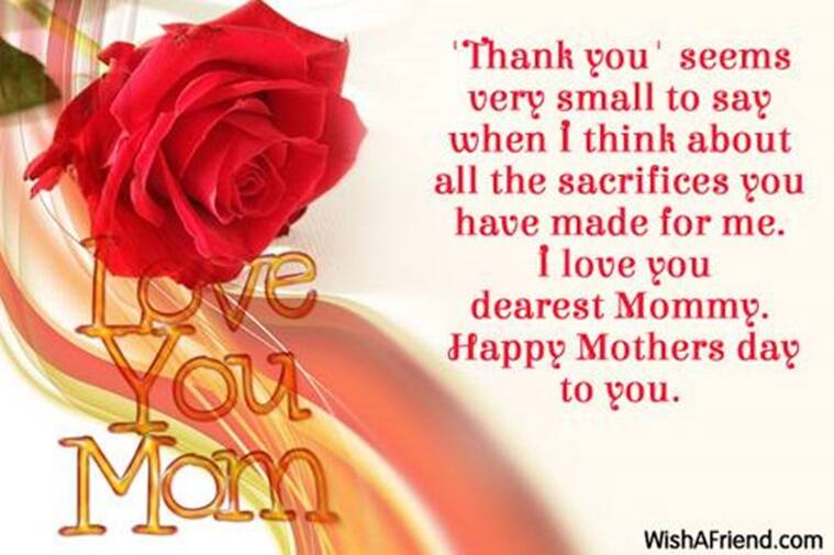 mothers day, mothers day wishes, greetings for mothers day, indian express, indian express news