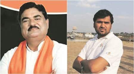 madhya pradesh, Sudeep patel, former bjp minister, kamal patel, kamal patel son, mp riots 2013, india news, indian express news