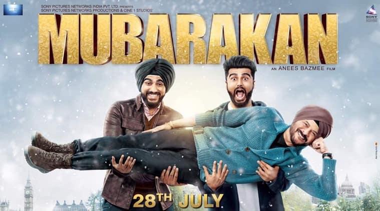 Mubarakan, mubarakan first look, mubarakan poster,