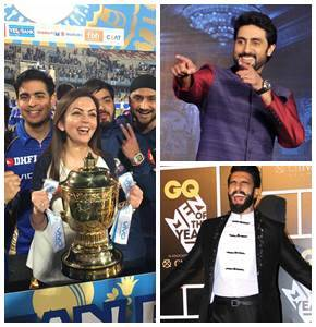Mumbai Indians win IPL 2017: Abhishek Bachchan, Ranveer Singh are the happiest. See more congratulatory messages