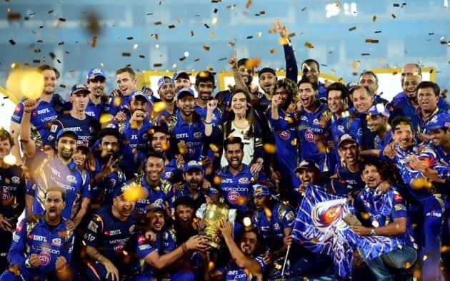 Mumbai Indians, MI, Mumbai Indians photos, IPL 2017 champions, IPL 2017, IPL winners, Mumbai, MI vs RPS, Sachin Tendulkar, Tendulkar MI, Harbhajan Singh, Rohit Sharma, IPL, IPL photos, IPL final photos, IPL champions photos, Sports photos, Indian Express