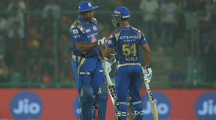 ipl 2017, ipl, dd vs mi, delhi vs mumbai, mumbai vs delhi, delhi daredevils vs mumbai indians, ipl playoffs, cricket news, ipl news, cricket, indian express
