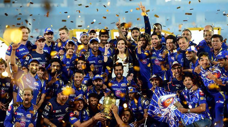 IPL Final: How Mumbai Indians celebrated their third title, watch video   Sports News,The Indian Express