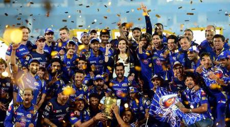 Mumbai Indians, MI, MI vs RPS, IPL final, Mumbai Indians celebrate, IPL 10, IPL 2017, Indian Premier League, cricket, sports news, Indian Express
