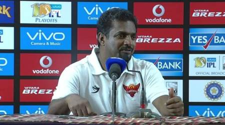 Muttiah Muralitharan, Muralitharan, KKR vs SRH, Kolkata Knight Riders, Sunrisers Hyderabad, IPL 2017, IPL 10 playoffs, Indian Premier League, cricket, sports news, Indian Express