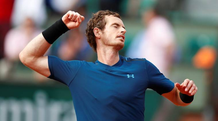 french open 2017, roland garros, andy murray, andrey kuznetsov, tennis news, sports news, indian express