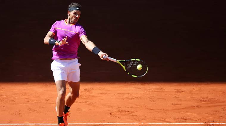 Rafael Nadal, Rafael Nadal news, Rafael Nadal updates, Rafael Nadal matches, Rafael Nadal wins, Rafael Nadal loss, sports news, sports, tennis news, Tennis, Indian Express