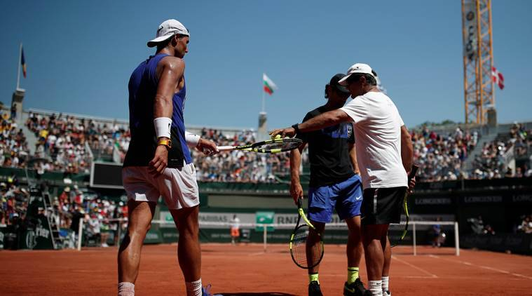 french open, french open day 1, french open day 1 schedule, french open day 1 order of play, roland garros day 1, roland garros day 1 order of play, roland garros day 1 schedule, tennis news, rafael nadal, djokovic, muguruza, french open news, indian express