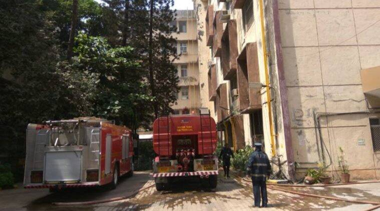 nair hospital fire, nair medical college fire, mumbai nair hospital fire, bmc mumbai, mumbai central. mumbai hospital fire, byl nair hospital fire, mumbai news, indian express