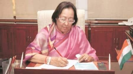 Najma Heptulla, jamia, jamia vice chancellor, education news, india news