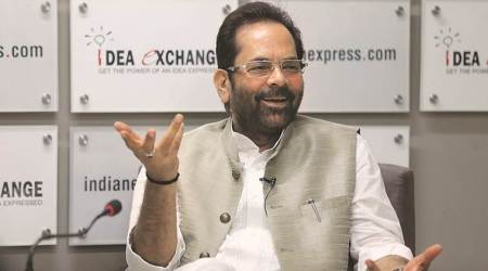 Union Minister Mukhtar Abbas Naqvi On Muslim Representation In UP Govt