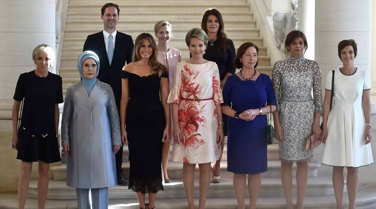 NATO, NATO summit, NATO Brussels, Gauthier Destenay, Xavier Bettel, Luxembourg Prime Minister, NATO first spouses, world news