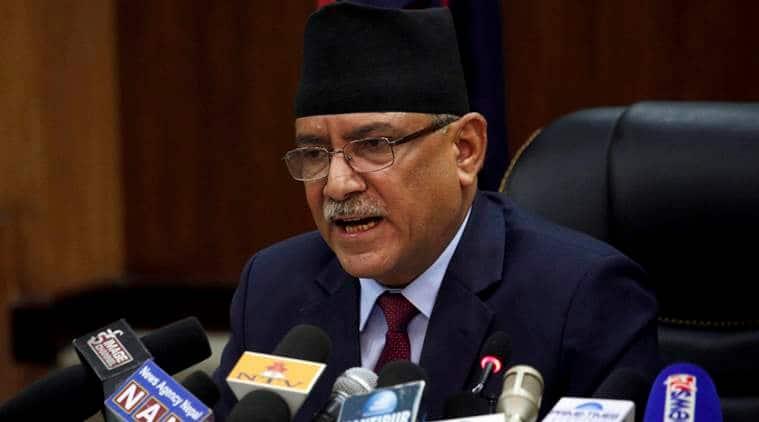 Former Nepal Prime Minister Pushpa Kamal Dahal