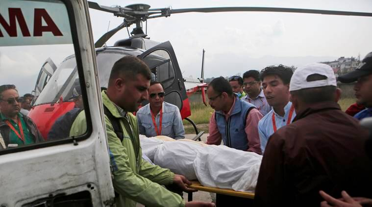 Nepal aircraft crash, nepal plane crash, nepal plane crash death toll, mount everest, nepal plane co-pilot dies, world news, nepal news, indian express