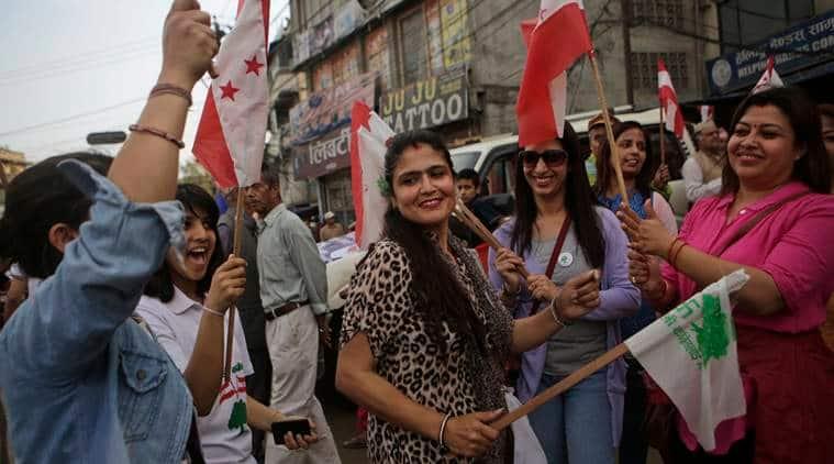 nepal, nepal local polls, nepal first local polls, nepal democracy, nepal news, world news,Prachanda, nepal prime minister prachanda, indian express