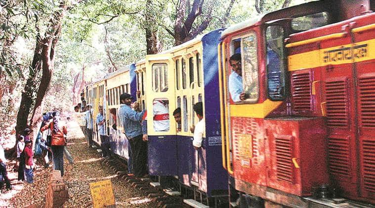 Matheran-Aman Lodge toy train service, Mumbai tourism, mumbai toy train, Central railways, indian express news