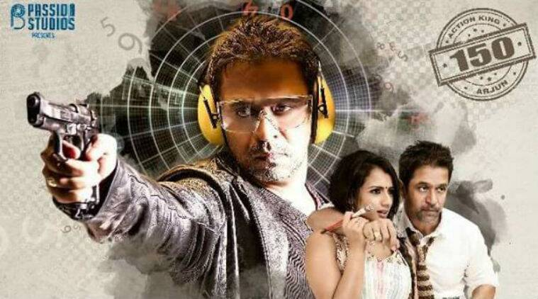 nibunan teaser  arjun sarja u2019s 150th film promises no