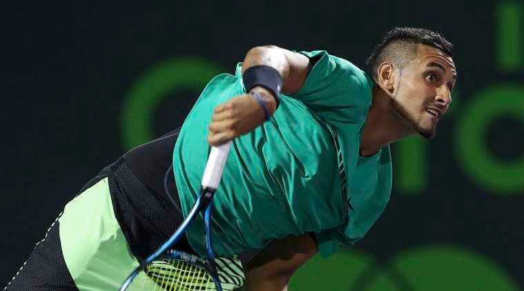 Nick Kyrgios, french open, roland garros, kyrgios roland garros, tennis news, sports news, indian express