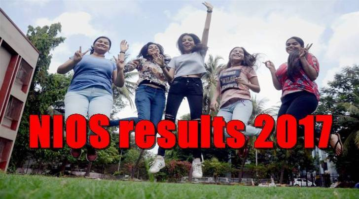 nios result 2017, www.nios.ac.in, 12th results, nios