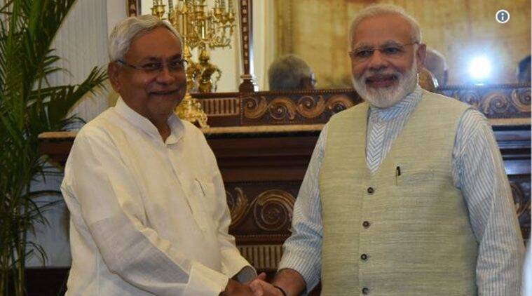 Nitish Kumar, Narendra Modi, Modi, PM Modi, Mauritius PM, Mauritius PM lunch, Nitish skips Sonia Gandhi lunch, Sonia Gandhi, Bihar CM Nitish Kumar, Indian Express, India news