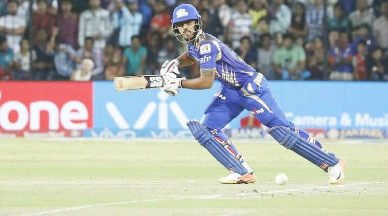 Nitish Rana, Mumbai Indians vs Rising Pune Supergiant, MI vs RPS, IPL final 2017, IPL 2017, Indian Premier League 2017, Sachin Tendulkar, Rohit Sharma, Mahela Jayawardene, sports news, cricket news, indian express