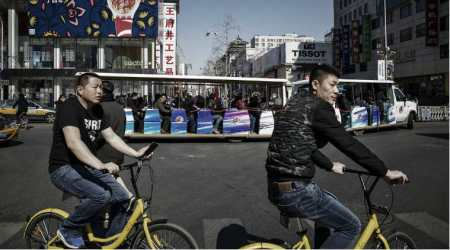 Booming bicycle industry, bicycle sharing industry, cluttered up sidewalks, addressing congestion, illegal parking, Ministry of Transport, trackable bikes, Mobike, Ofo, bike sharing boom, move away bikes, Foxconn, Temasek Holdings, Tencent Holdings, bike rental firms, Technology, Tecchnology news