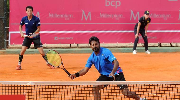 leander paes, rohan bopanna, divij sharan, purav raja, french open, roland garros, french open doubles draw, french open indians, indians at french open, tennis news, french open news, indian express