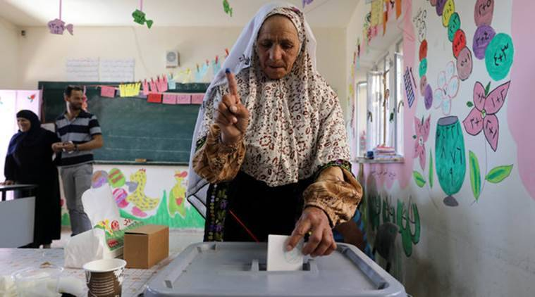 palestine elections, west bank votes, palestine municipal elections, palestine news, palestine, west bank, world news, indian express