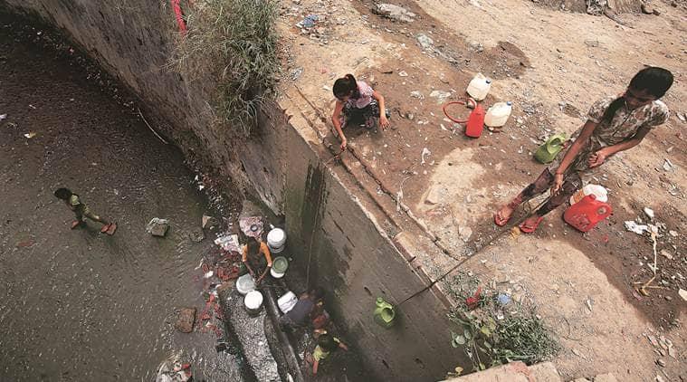 delhi, delhi water crisis, delhi water shortage, delhi summer, delhi jal board, dda, delhi land pooling policy, delhi government, aap government, delhi water sources,groundwater consumption, delhi urban development, delhi news, latest news