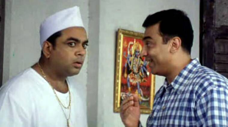 paresh rawal, paresh rawal films, paresh rawal best films, paresh rawal movie stills, paresh rawal pics, paresh rawal actor, chachi 420, chachi 420 stills