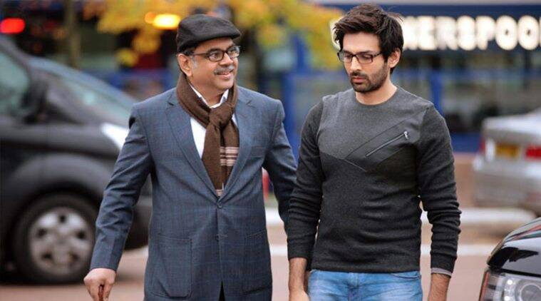 Paresh Rawal, Kartik Aaryan, Kriti Kharbanda, Guest Iin London, Akshay Kumar, upcoming movie, Bollywood news, Indian express news