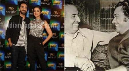 Meri Pyaari Bindu stars Ayushmann Khurrana, Parineeti Chopra, Mohd Rafi and Kishore Kumar. The stars openup