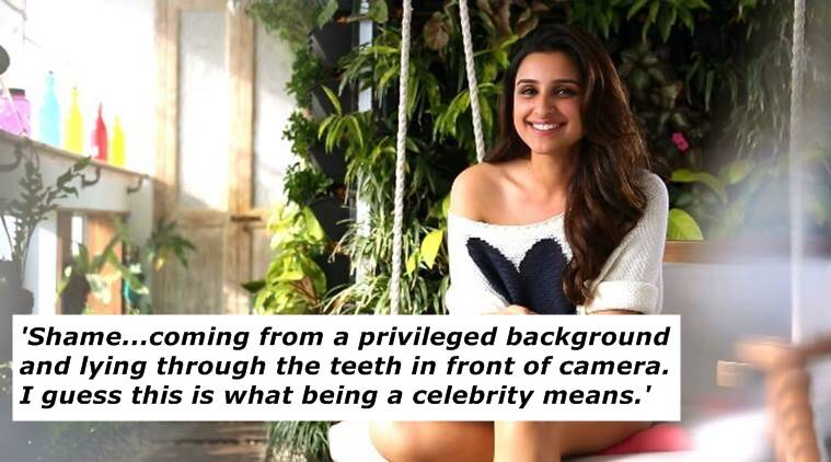 Parineeti Chopra, parineeti chopra lying, classmate on parineeti chopra, classmate calling out parineeti chopra's lie, indian express, indian express news