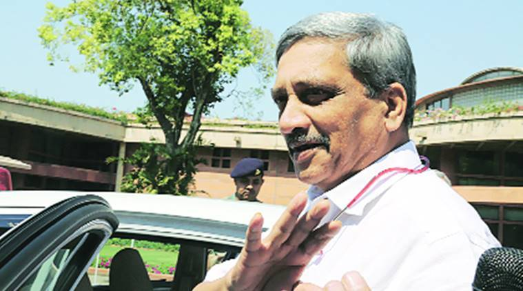 Goa desecration of religious symbols, Goa temple desecration, Manohar Parrikar on desecration of religious symbols, Goa police on desecration of religious symbols, indian express news