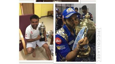 Parthiv Patel celebrates triple trophy season