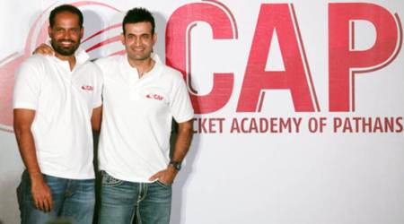 Irfan Pathan, Yusuf Pathan, Cricket Academy of Pathans, Irfan and Yusuf, Pathan Brothers, CAP, Gujarat, sports news, cricket news, indian express