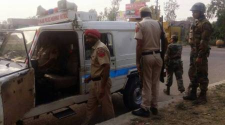Pathankot on alert after police find two suspicious bags near Mamun army base