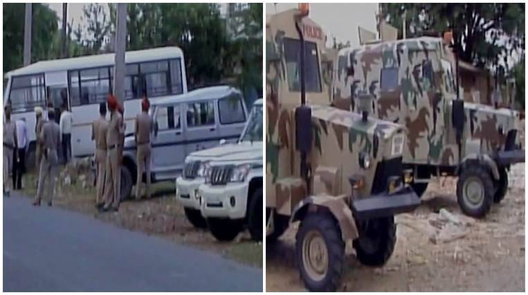 Pathankot, Indian Army, Mamun military station, Punjab Police,