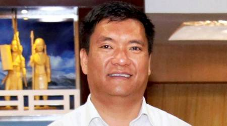 Pema Khandu for expediting railway link to China border