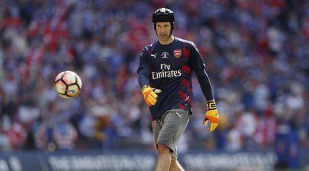 Arsenal goalkeeper Petr Cech wins his 11th Czech Republic Golden Ball award
