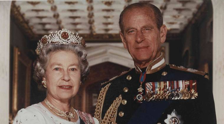 Prince Philip jokes about advanced years